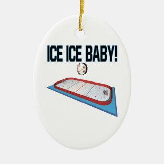 Ice Ice Baby Christmas Tree Ornament