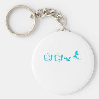 Ice Ice Baby Keychain