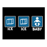 Ice Ice Baby Post Cards