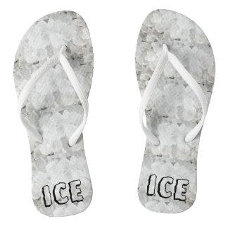 Ice Ice Flip Flops