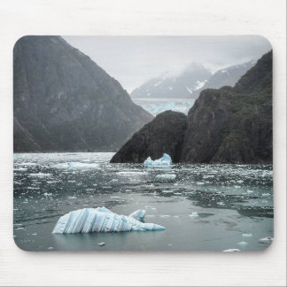 Ice in Tracy Arm Fjord Mousepad