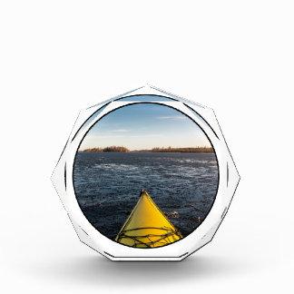 Ice kayaking award