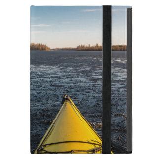 Ice kayaking case for iPad mini