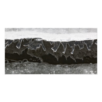 Ice layers photo card