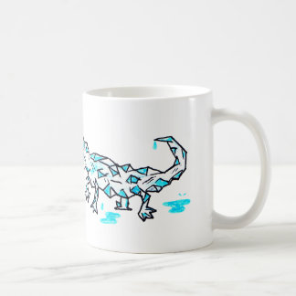 ice lizard coffee mug