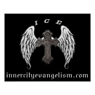 ICE Logo Poster (All profits to ICE Ministry)