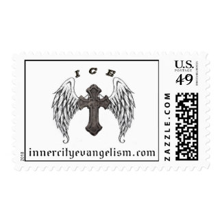 ICE Logo Stamp (All profits to ICE Ministry)