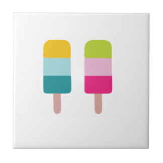 Ice lolly dream ceramic tile
