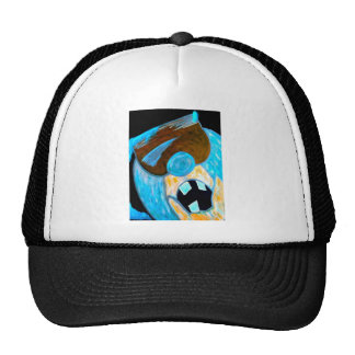 Ice man character trucker hat