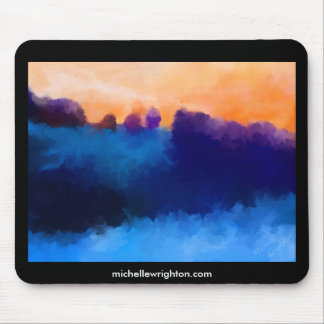 Ice Mauve and Marmelaide Mouse Pad