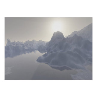 ice morning poster