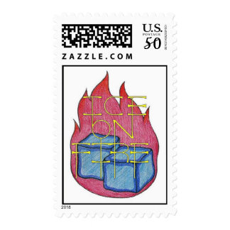 Ice on Fire Stamp