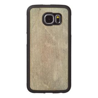 Ice on ground photo wood phone case