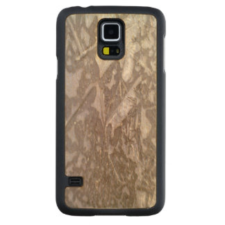Ice on the ground carved® maple galaxy s5 case