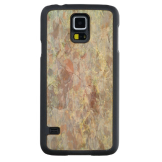 Ice on the ground carved® maple galaxy s5 slim case