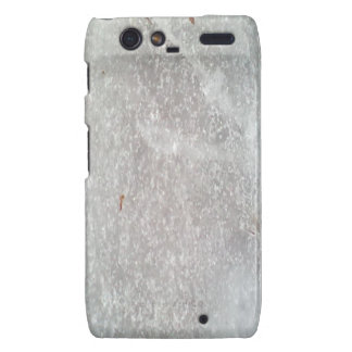 Ice on the ground droid RAZR cover