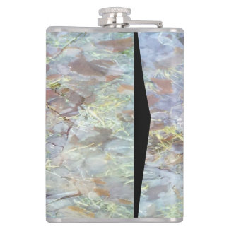 Ice on the ground hip flask
