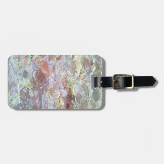 Ice on the ground luggage tags