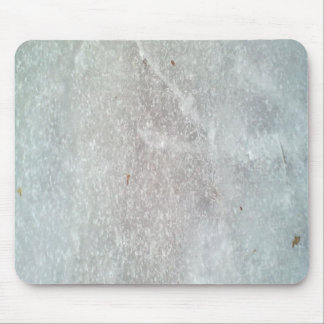 Ice on the ground mouse pad
