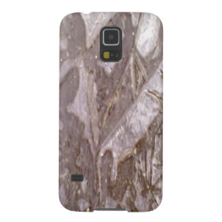 Ice on the ground photo case for galaxy s5