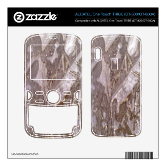 Ice on the ground ALCATEL tribe skin