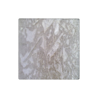 Ice on the ground stone magnet