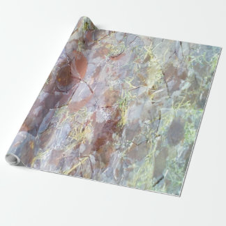 Ice on the ground gift wrap