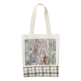Ice on the ground zazzle HEART tote bag