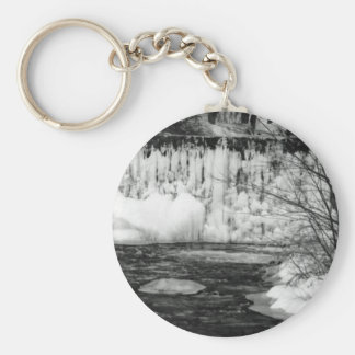 Ice on the River Keychain