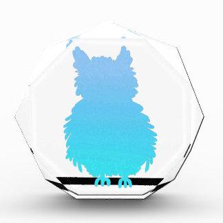 Ice Owl Acrylic Award