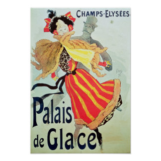 Ice Palace', Champs Elysees, Paris, 1893 Poster