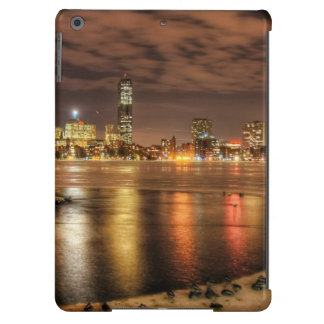 Ice partially melted on Charles River in Boston Case For iPad Air