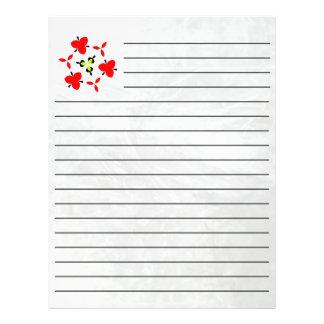 Ice pattern flyer
