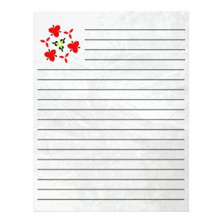Ice pattern letterhead