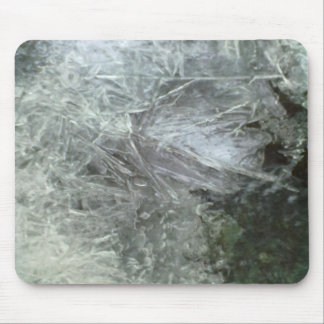 Ice pattern mouse pad