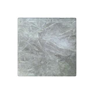 Ice pattern stone magnet