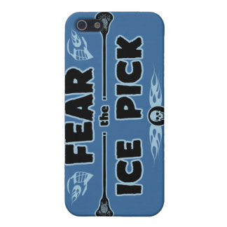 Ice Pick - blue Cover For iPhone 5