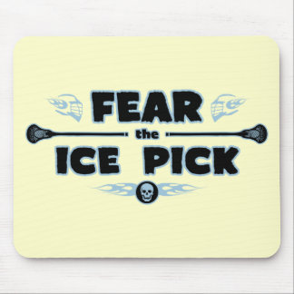 Ice Pick - blue Mouse Pad