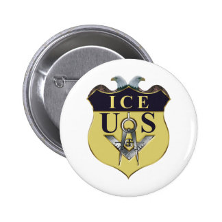 ICE PINBACK BUTTON