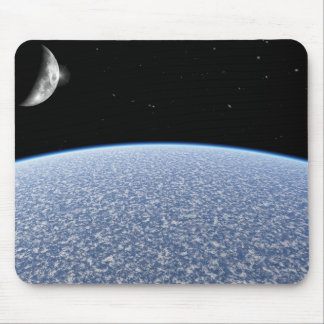 Ice Planet Mouse Pad