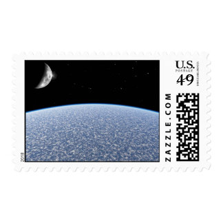 Ice Planet Postage Stamps
