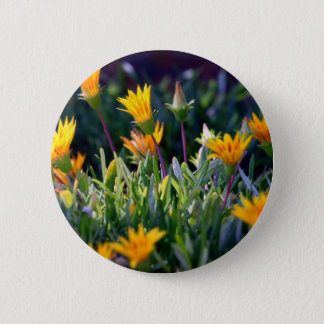 Ice Plant Pinback Button