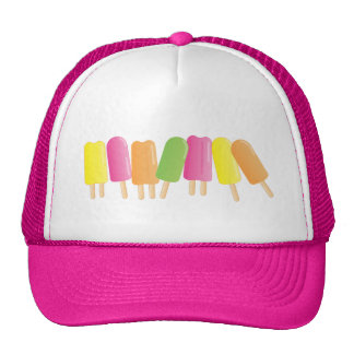 Ice-Pop Line-Up Mesh Hat