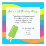 Ice Pops, Rainbows and Hearts Card