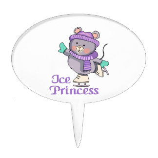 ICE PRINCESS CAKE PICKS