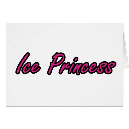 Ice Princess Card