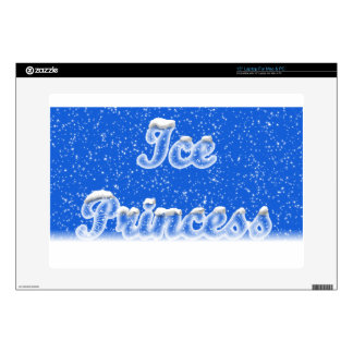 "Ice Princess Decal For 15"" Laptop"