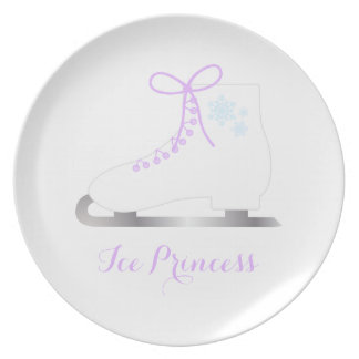 Ice Princess Dinner Plate