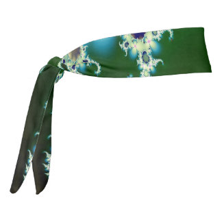 Ice Princess Fractal Tie Headband