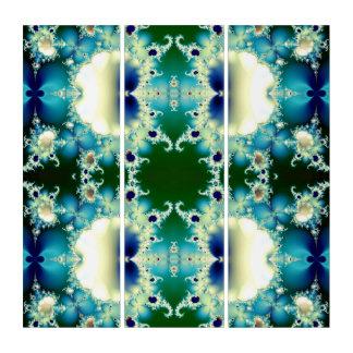 Ice Princess Fractal Triptych